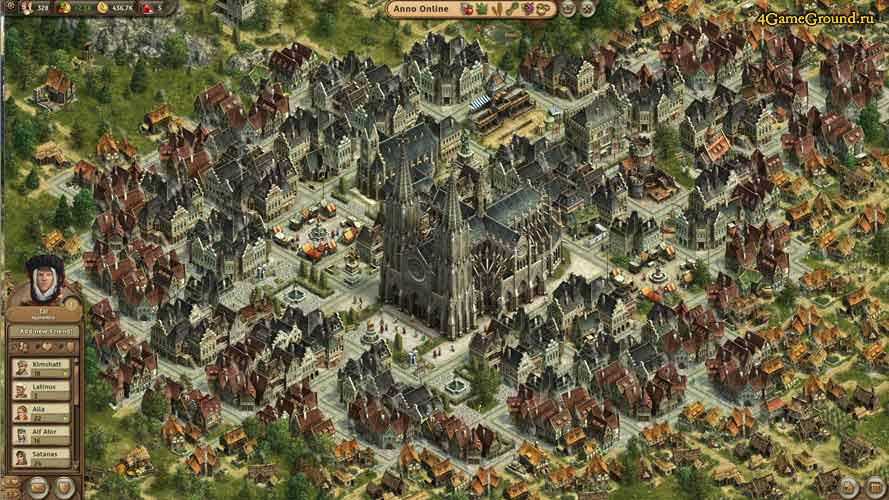 Anno online - your town