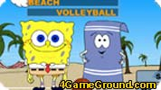 SpongeBob Beach Volleyball