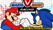 Race Mario and Sonic