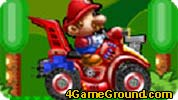 Mario on a motorcycle journey