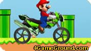Mario enjoys riding