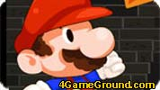 Mario In a fiery captivity