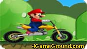 Mario Now on a motorcycle!