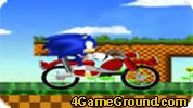 Sonic and the bike