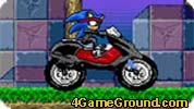 Sonic loves motorcycles