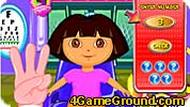 Cute Dora goes to the Eye Clinic