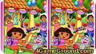 10 Differences Dora the explorer