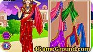 Barbie Indian Saree
