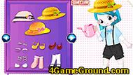 Little Gardener Girl Dressup 3