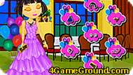 Dora Fashion Party Dress Up Game