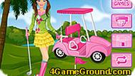 Golf Barbie