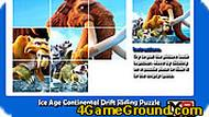 Ice Age Continental Drift Sliding Puzzle