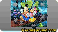 Mickey and Minnie Jigsaw