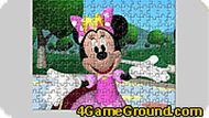 Minnie Mouse Jigsaw Game