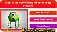 Monsters Inc Quiz