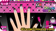 Draculaura Manicure Game