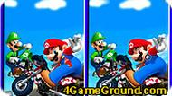 Mario – 6 Differences