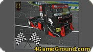 Racing Truck Jigsaw