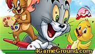 Tom and Jerry: Find Hidden Letters