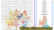 Winx Club Word Search
