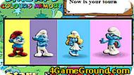 Smurfs Colours Memory