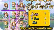 Sofia the First Tic-Tac-Toe