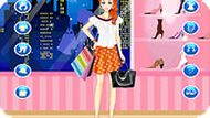Fashion Shopping Girl