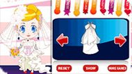 Mini Bride Dressup