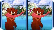 Brother Bear Spot the Difference