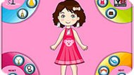 Bubbly Girl Dress up