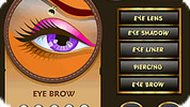 Online Girl Eye Make up