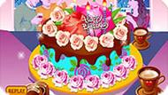 Flower Cake Decoration