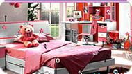 Girl Bedroom Hidden Alphabets