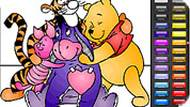 Pooh and Friends Coloring