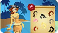 Caribbean Pirate Girl Makeover