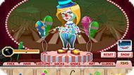 Clown Girl Carol Dressup