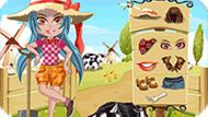 farmer girl dress up