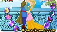 Cinderella Kissing Prince