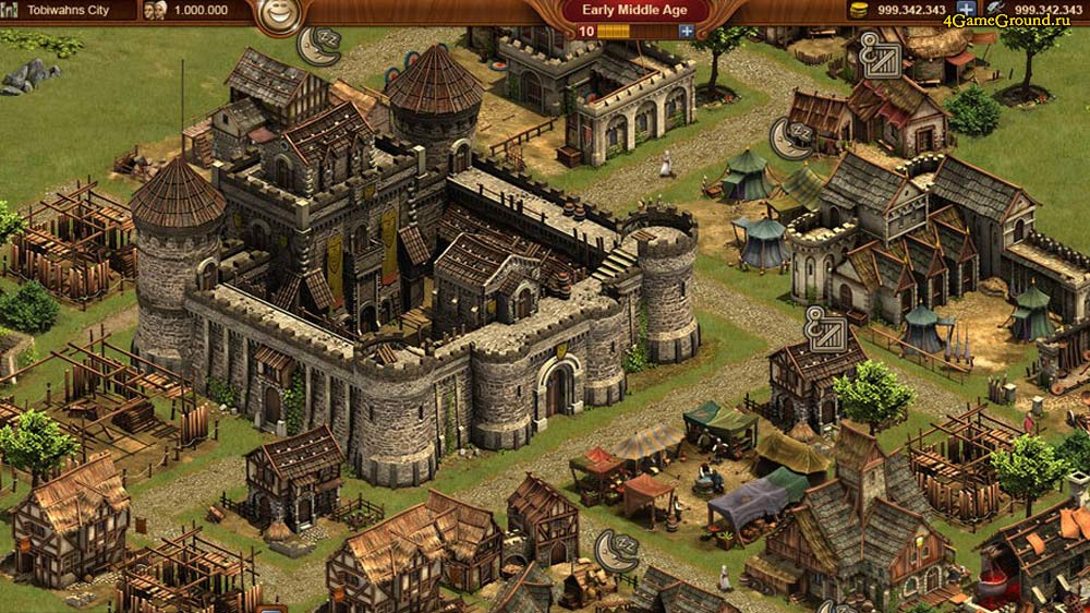 Forge of Empires - your castle
