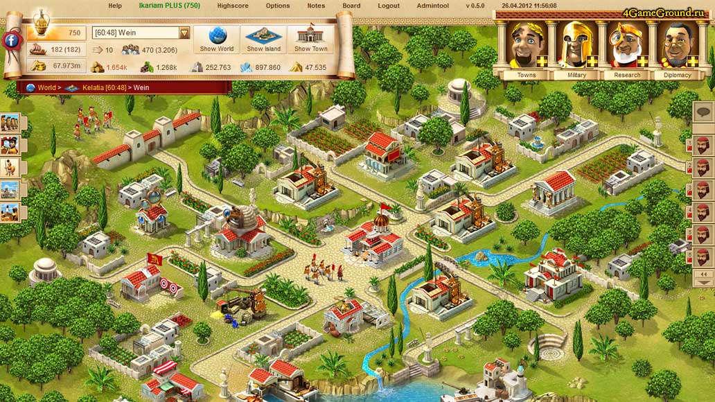 Ikariam - your powerfull city