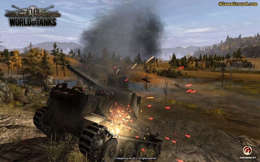 World of Tanks - let's battle!