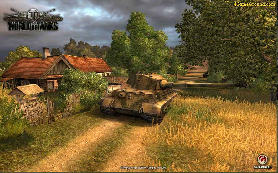 King Tiger in World of Tanks