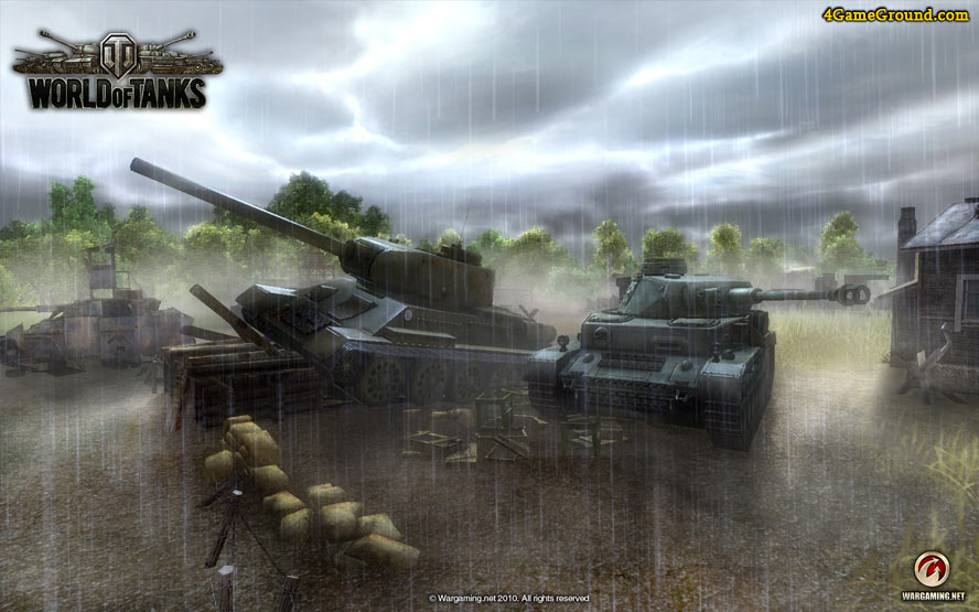 Two permanent opponents - T-34 and PzKmpf IV