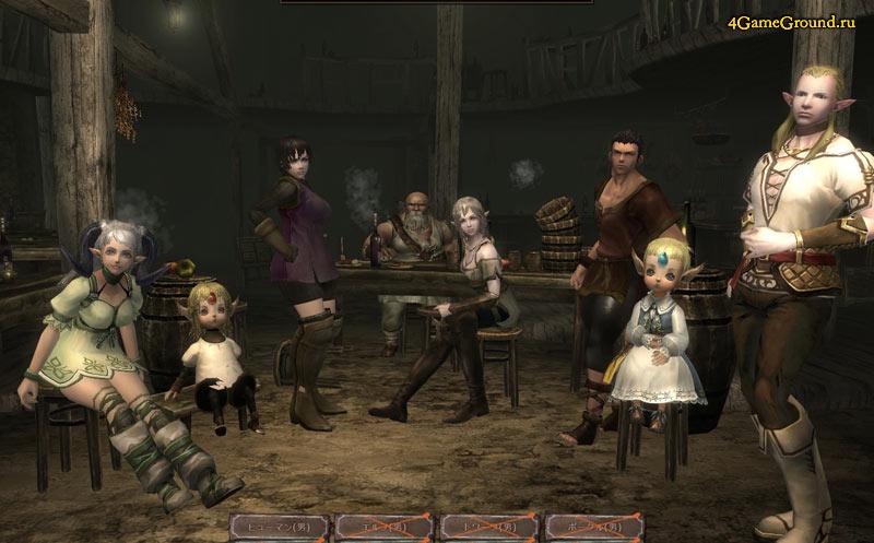 Wizardry Online - characters