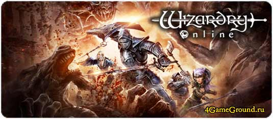 Wizardry Online game - a real hardcore MMORPG!
