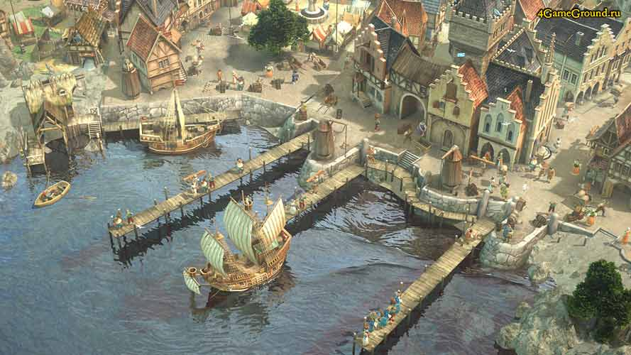Anno online - city port