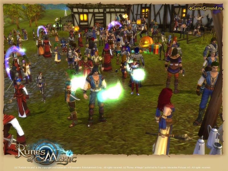 Runes of Magic - in village