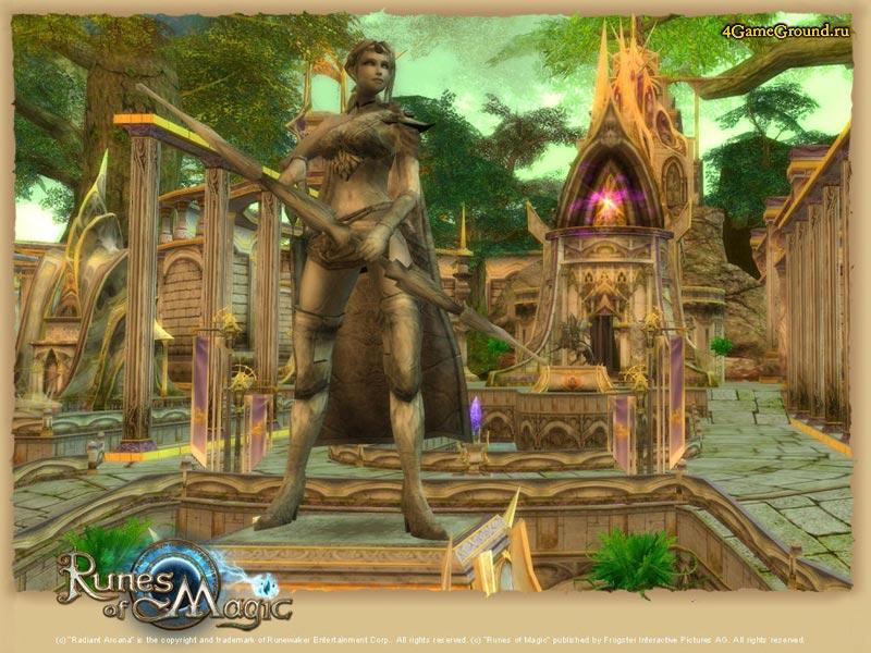 Runes of Magic - statue