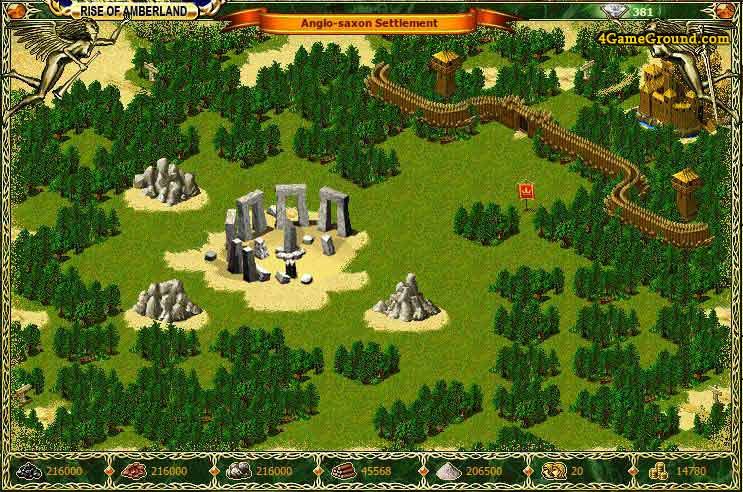 1100AD - English-Saxon settlement