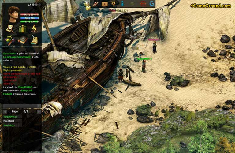 Pride of Taern - shipwreck